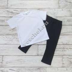 Спорт.форма: лосины+футболка