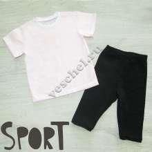 Спорт.форма: капри+футболка